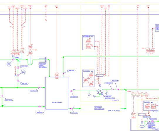 2D CAD Drafting Detailing